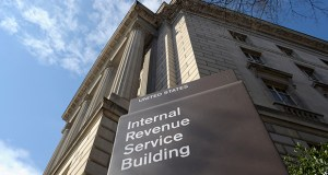 This March 2013 photo shows the exterior of the IRS building in Washington. (AP file photo)