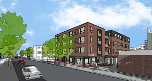 Affordable apartments at the Peris Hill at 1930 Hennepin Ave. in Minneapolis would include units for young people who have recently left foster care. (Submitted illustration: Collage)