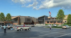 Improvements planned for Roseville Area High School include new classrooms to accommodate an additional 300 students, new science labs, and renovated areas for special education, music and career and technical education. (Submitted rendering: Kraus-Anderson Construction)