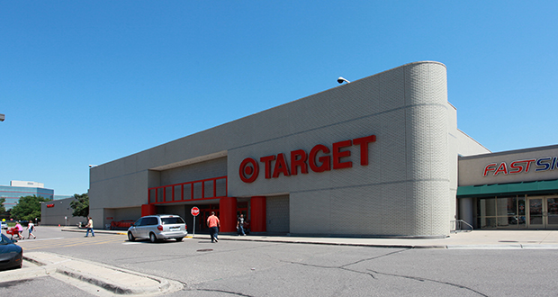 A 117,595-square-foot Target store at 6100 Shingle Creek Parkway in Brooklyn Center will close on Feb. 2. Target plans to sell the property. (Submitted photo: CoStar)