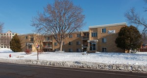 St. Louis Park-based Kramer/Saxl Group has paid $10 million to acquire the 86-unit Continental Village Apartments at 5600 and 5632 Boone Ave. N. and 8500 56th Ave. N. in New Hope. (Submitted photo: CoStar)