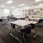 A classroom in the newly constructed portion of the building. (Staff photo: Matt M. Johnson)