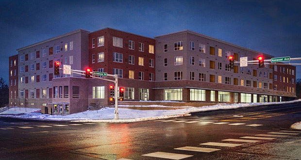 United Properties developed the 83-unit Kenwood Village at 1515 Kenwood Ave. in Duluth, which opened in 2017. (Submitted photo: United Properties)
