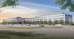Winnipeg-based Artis REIT closed on the first phase of Prime Therapeutics headquarters complex at 2900 Ames Crossing Road on Nov. 27. About 900 Prime employees have moved into the first building. (Submitted illustration: HGA Architects)