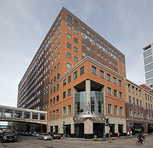 Minneapolis-based Target Corp. leases most of the space in Target Plaza III building at 950 Nicollet Mall in downtown Minneapolis. (Submitted photo: CoStar)
