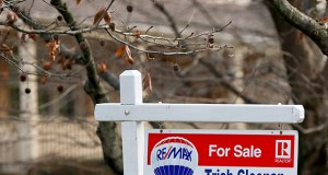 In this Jan. 3, 2019 photo, a realtor sign marks a home for sale in Franklin Park, Pennsylvania. (AP file photo)