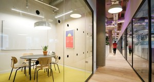 This photo shows WeWork office space in London. (Bloomberg file photo)