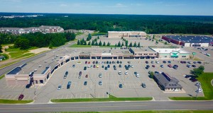 A Colorado buyer has paid $4.55 million for a heavily renovated 60,000-square-foot retail center at 14091 Baxter Drive in Baxter, just west of Brainerd. The same buyer paid $1.523 million for the adjacent 9,600-square-foot Dollar Tree store at 14087 Baxter Drive, shown at right. (Submitted photo: CoStar)