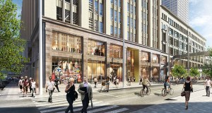 The $250 million renovation at the former Dayton's store at 700 Nicollet Mall is one of several efforts underway to revitalize the onetime department store hub of Nicollet Mall. The Minneapolis Downtown Council has released a new report to make the case for further downtown retail development. (Submitted image: The Dayton's Project )