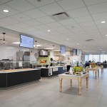 The cafeteria in Prime's headquarters has five food stations. (Submitted photo: Prime Therapeutics)