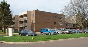 Golden Valley-based Bigos Management has paid $8.1 million for the 81-unit Washington Square Senior Apartments at 2060 Fifth St. in White Bear Lake. (Submitted photo: CoStar)