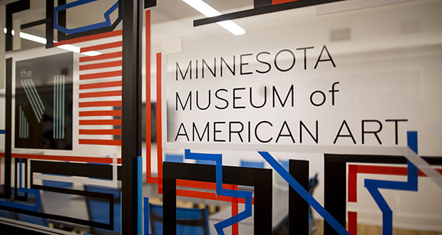 The Minnesota Museum of American Art occupies space in two downtown St. Paul buildings built about 120 years ago. The museum completed phase one of a major rehabilitation project last year and plans a second phase for completion in 2020. (File photo: Andy Clayton-King, Special to Finance & Commerce)