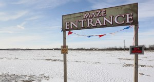 Part of the 214 acres Scannell Properties owns in Brooklyn Park has been used as the site of the Twin Cities Harvest Festival and Maze. The site is being developed as an industrial park. (File photo: Bill Klotz)