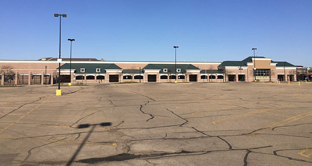 The former Walmart store in St. Anthony was built in 2004 but vacated a decade later when the company moved to a new, larger location in nearby Roseville. (Submitted photo: CoStar Group)