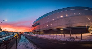 Allianz Field, the new soccer stadium at 450 Snelling Ave. N., will host its first game this Saturday. Hundreds of new housing units are proposed near the $250 million stadium. (Submitted photo: Visit Saint Paul)