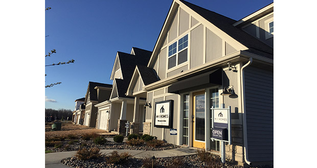 As Canadian builder Mattamy Homes has left the local housing market, Ohio-based M/I Homes has taken over many of its developments, including Woodland Cove in Minnetrista. (Submitted photo)