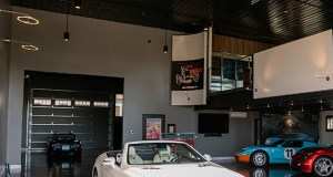This custom garage condominium at the AutoMotorPlex in Medina, which cost more than $1 million to buy and build out, is the first garage to be featured in the annual Artisan Home Tour, a luxury home tour sponsored by BATC-Housing First Minnesota. (Submitted photo)