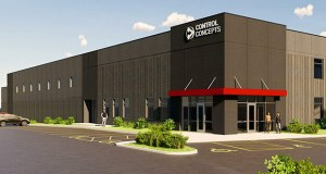 Chanhassen-based Control Concepts Inc. plans to move its roughly 40 employees to a new building at 8077 Century Blvd. that would have room to grow to up to 100. (Submitted image: Bauer Design Build)