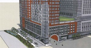 A proposal to build affordable or mixed-income housing atop the new city parking ramp at First Avenue and Center Street is one of several efforts underway to boost Rochester's affordable housing stock. The Destination Medical Center Corp. is looking for additional levers to combat the city's rapid rise in housing costs. (Submitted image: Collaborative Design Group)