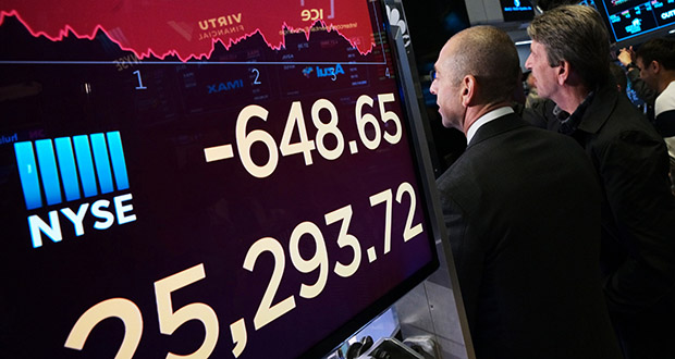 New York Stock Exchange, May 13, 2019. (AP Photo: Mark Lennihan)