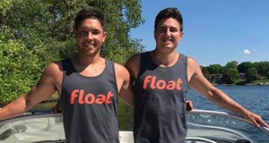 Float co-founders Jake McHenry, CEO, and Ross Larson, chief operating officer, are preparing for their first full season this year. (Submitted photo: Float)