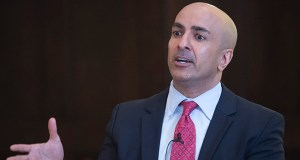 Since becoming president of the Minneapolis Fed in 2016, Neel Kashkari has been a consistent dove, arguing for keeping interest rates lower as the labor market heals. (File photo: Craig Lassig)