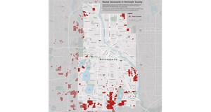 The Mapping Prejudice project has identified thousands of Hennepin County properties that at one point had restrictions banning certain racial groups from ownership, including entire neighborhoods of Minneapolis. (Submitted image: Mapping Prejudice)