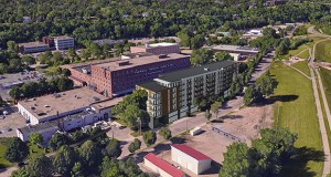 Minneapolis-based Reuter Walton plans to build 137 apartments at 84 Water St. W. in St. Paul, just south of Harriet Island Regional Park and the Mississippi River. It's one of several multifamily projects built or proposed in recent years just across the river from downtown St. Paul. (Submitted image: DJR Architecture)