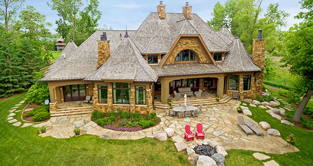 This home at 640 Locust Hills Drive in Wayzata, which is on a private drive, has sold for $5.5 million. (Submitted photo: Realtor.com)