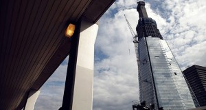 The Shard tower in London is shown under construction in this 2011 photo. The 95-floor Shard has 500 tons of the metal in its 66-meter spire alone, according to its Montreal-based structural engineer, WSP. (Bloomberg file photo)