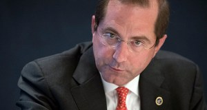 Health & Human Services Secretary Alex Azar says President Donald Trump's executive order requiring upfront disclosure of prices for common medical tests and procedures will give patients information that they can use to keep costs down. (AP file photo)