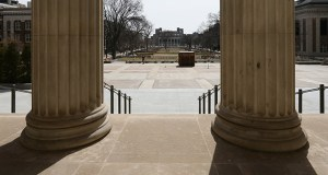 A traditional college degree may not be the ticket to success for future workers. This photo shows the view from the portico of the University of Minnesota's Northrop Auditorium. (File photo: Bill Klotz)