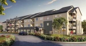 Wisconsin-based Bethesda Lutheran Communities plans to break ground Aug. 15 on this new 52-unit independent living complex for seniors and people with disabilities. The project will rise at 1501 82nd St. in Victoria. (Submitted rendering: QPK Design)