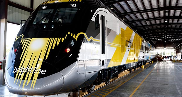 Investors bought up $1.75 billion in unrated municipal bonds for Virgin Trains USA's private rail project in Florida. The rail line was previously known as Brightline before striking a branding deal last year with billionaire Richard Branson. (Bloomberg file photo)