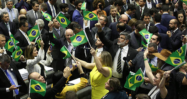 Weeks before pension legislation in Brazil cleared its biggest obstacle in July, machine data crunching allowed Arkera analysts to predict the result almost to the letter. (Bloomberg file photo)