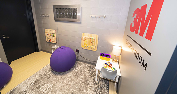 "The Minnesota Vikings unveiled this new ""sensory inclusive room"" Sunday at U.S. Bank Stadium. (Submitted photo: Minnesota Vikings)"