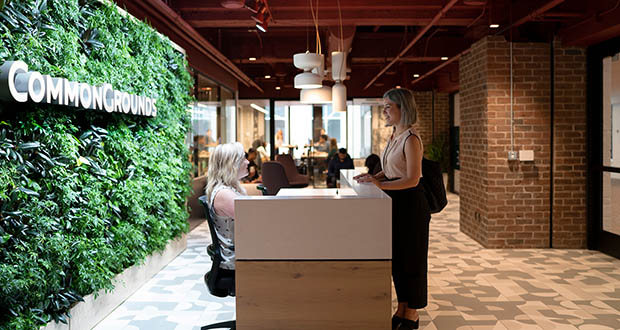 Carlsbad, California-based CommonGrounds opened a nearly 30,000 square foot space this summer at 801 Marquette Ave. in downtown Minneapolis. (Submitted photo: CoStar)