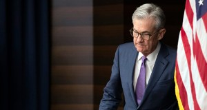 The Federal Reserve will release its latest monetary policy statement Wednesday, which is expected to announce a reduction in interest rates. In this July 31 photo, Fed Chairman Jerome Powell walks to the podium during a news conference following a two-day Federal Open Market Committee meeting in Washington. (AP file photo)