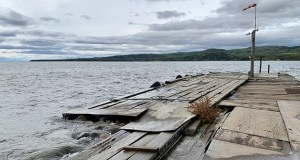 The Grand Portage Tribe is planning a $5.2 million project to upgrade this ferry terminal and an adjacent Marina on the north shore of Lake Superior. (Submitted photo: Paula Marie Powell)