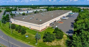 The 184,646-square-foot Northland Interstate Business Center IV at 9300 75th Ave. N. in Brooklyn Park is the priciest piece of Onward's industrial portfolio purchase at $14.7 million. (Submitted photo: Colliers)