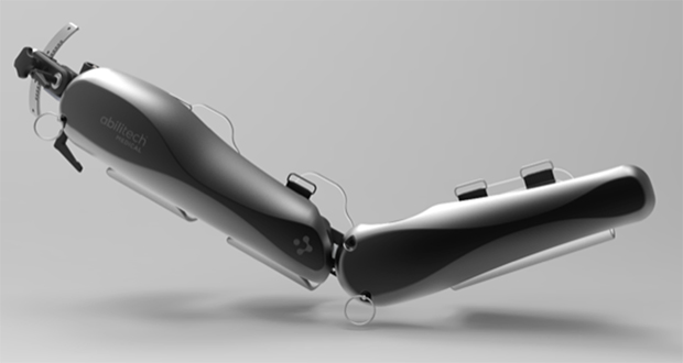 Abilitech Medical designs mobility-enhancing devices for people with upper-limb muscular or neurological weakness. (Submitted photo)