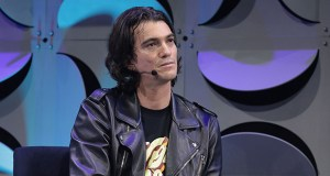 WeWork founder Adam Neumann will leave the company's board as part of a rescue deal from SoftBank Group, according to people familiar with the deal. (Bloomberg file photo)