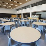 The cafeteria offers natural lighting and family style seating. (Photo: Bill Klotz/Special to Finance & Commerce)