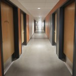 The third floor hallway of resident area. (Bill Klotz/Special to Finance & Commerce)