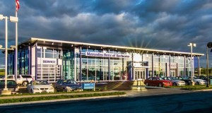 An entity of Ed Napleton Automotive Group in Oakbrook Terrace, Illinois, has paid $6 million for the Mercedes Benz of Rochester dealership at 4444-4447 Canal Place SE in Rochester. The seller was an entity related the Wisconsin-based Ballweg Family of Dealerships, based in Prairie du Sac, Wisconsin, which developed it in 2010. (Submitted photo: Ed Napleton Automotive Group)