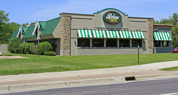 Restaurant owner Marcos Gomes has bought this former Perkins Restaurant & Bakery at 1205 First Ave. E. in Shakopee, with plans to reopen it as Ruby's Family Restaurant. (Submitted photo: CoStar)