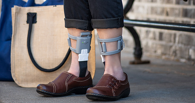 Walkasins, a wearable medical device manufactured by the Eden Prairie-based startup the RxFunction, give vibrating balance cues to patients with problems related to peripheral neuropathy. (Submitted image)
