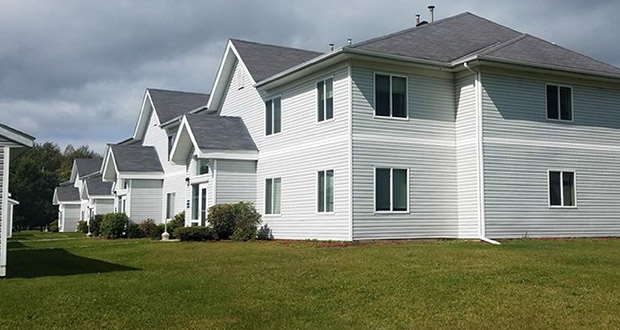 The 36-unit Wild River Townhomes in Sandstone have sold for nearly $2.2 million to an investor making the leap into rental ownership. (Submitted photo: Michel Commercial Real Estate International Inc.)