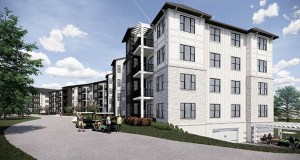 Gramercy Development hopes to begin construction in summer 2020 on this 87-unit senior cooperative project at 641 Jacob Lane in Anoka. (Rendering: Kaas Wilson Architects)