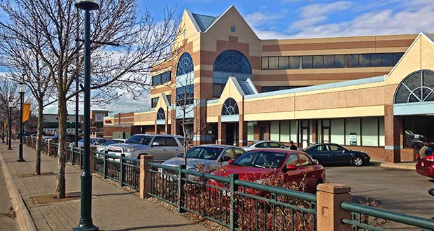 The Robbinsdale Town Center, at 4080 West Broadway Ave., has sold for $8 million, according to a certificate of real estate value. (Photo: CoStar)